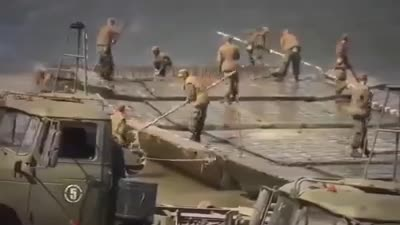 كيفية عبور المصريين قناة السويس في 1973