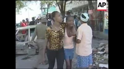 أحداث العنف التي شهدتها هايتي أثثناء انقلاب 2004