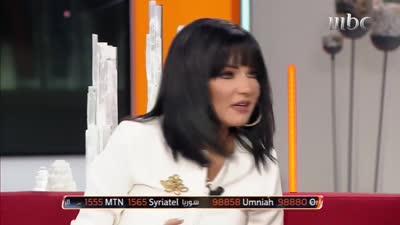 صفاء سلطان تقلد أصالة وأحلام  2019.