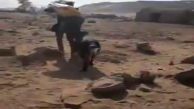 تصدي أهالي جزيرة آمون لاعتداء حراس تابعين لنجيب ساويريس عليهم، نوفمبر 2019
