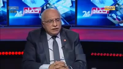 Abdel Karim Harouni calls on the supporters of the Ennahda Party to confront people, January 2021.