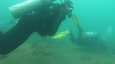 Abdullah Al Khalifa on a diving trip in Israel, August 2021
