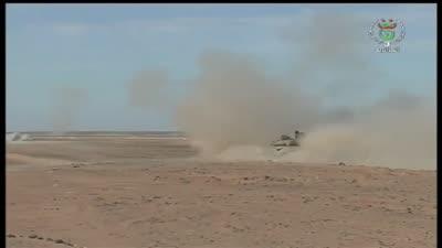 شنقريحة يحضر تدريب عسكري على الحدود الليبية 2020-01-14