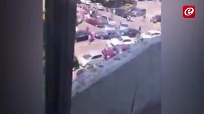 تبادل إطلاق النار بين عناصر الأمن اللبناني حول محطة وقود في بعبدا، لبنان، 6 يوليو 2021
