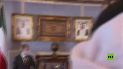 جولة وزير الخارجية الأمريكي توني بلنكن في مجلس الأمة الكويتي، 29 يوليو 2021