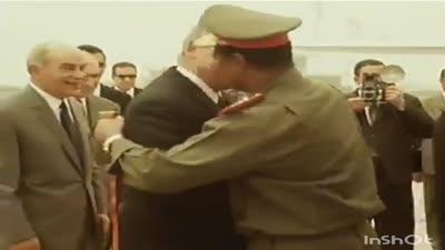 السادات يستقبل النميري، ح. 1971