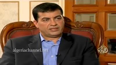 لخضر بورقعة على قناة الجزيرة يتحدث فيه عن الأطراف الموالية لفرنسا في الجزائر