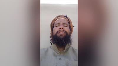 الفيديو الأخير لعبد الرحيم الحويطي وقصف منزله، أبريل 2020