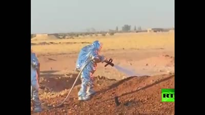 انفجار خط الغاز العربي في شرق سوريا، 24 أغسطس 2020