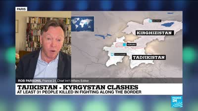 Kyrgyzstan and Tajikistan try to end cross-border clashes